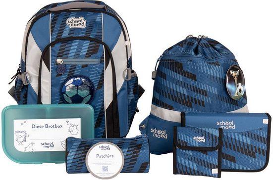 SCHOOL-MOOD® Schulrucksack »Loop Air+, Mats« (Set), aus recyceltem Material
