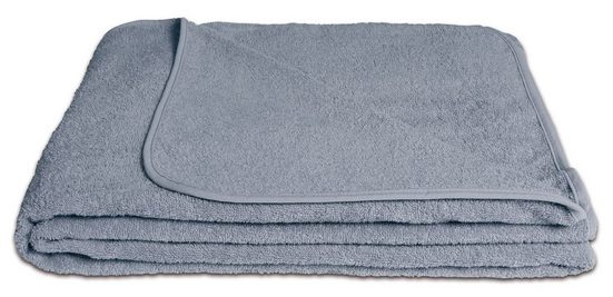 Wohndecke »Frotteedecke«, KiGATEX, 100% Baumwolle, 150 x 200 cm
