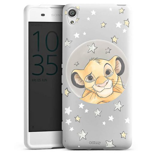 DeinDesign Handyhülle »Simba ohne Hintergrund« Sony Xperia XA, Hülle Löwe Disney Offizielles Lizenzprodukt