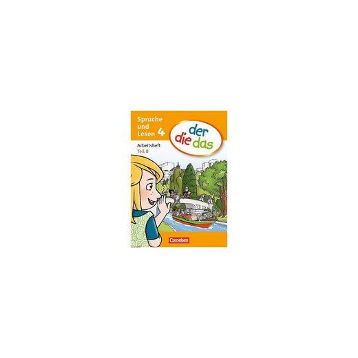 Cornelsen Verlag 4. Schuljahr, Sprache und Lesen - Arbeitsheft Teil A und B