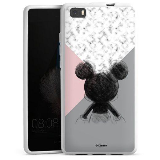 DeinDesign Handyhülle »Mickey Mouse Scribble« Huawei P8 Lite (2015-2016), Hülle Disney Marmor Offizielles Lizenzprodukt