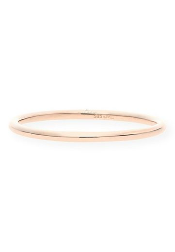 JuwelmaLux Goldring »Ring Gold Damen« (1-tlg), Rotgold 585/000, inkl. Schmuckschachtel
