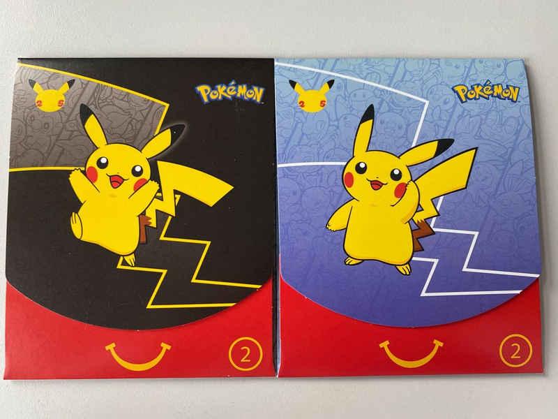 AMIGO Sammelkarte »Pokémon McDonalds Booster 2021 Englisch Sammlerstück«