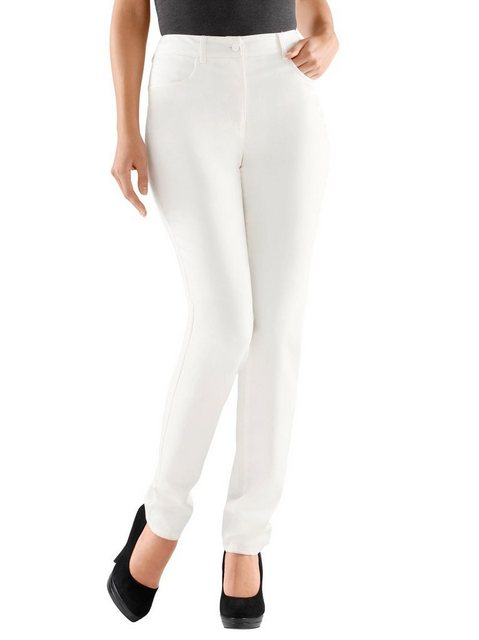 Hosen - creation L Stretch Hose › weiß  - Onlineshop OTTO