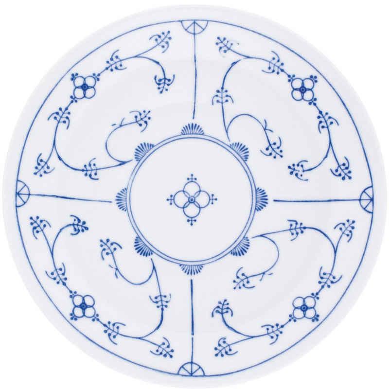 Kahla Suppenteller »Blau Saks 22 cm«, von Hand dekoriert