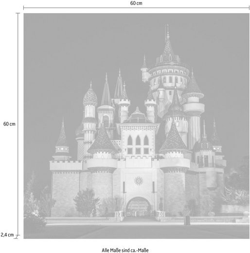 queence Acrylglasbild »Schloss«