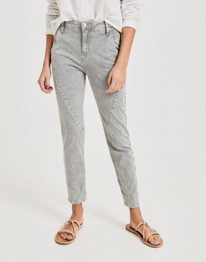 OPUS 7/8-Jeans »Letty« mit einheitlichem Streifenmuster