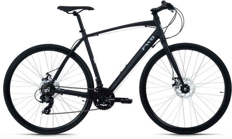 KS Cycling Urbanbike »FWD«, 21 Gang Shimano Tourney Schaltwerk, Kettenschaltung
