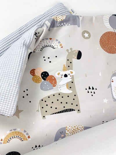 Babydecke »BABYDECKE Kuscheldecke 100% Baumwolle, Baby Decke Krabbeldecke Waffelstoff, Waffelpique Gr. M 0-24 Monaten ganzjärig«, BABEES