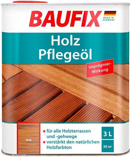 Baufix Teakholzöl »Teak«, 3 Liter, braun