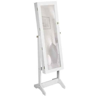 tectake Standspiegel »Schmuckschrank mit Spiegel, hochkant«
