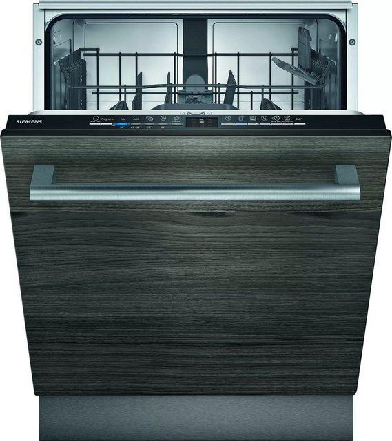 Küchengroßgeräte - SIEMENS vollintegrierbarer Geschirrspüler iQ100, SN61IX12TE, 10,5 l, 12 Maßgedecke  - Onlineshop OTTO