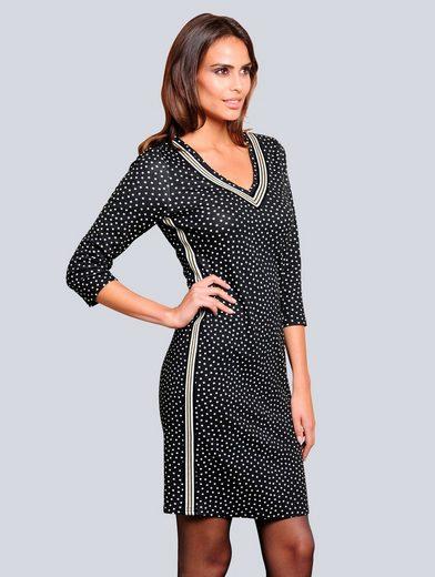 Alba Moda Kleid in formstabiler elastischer Ware