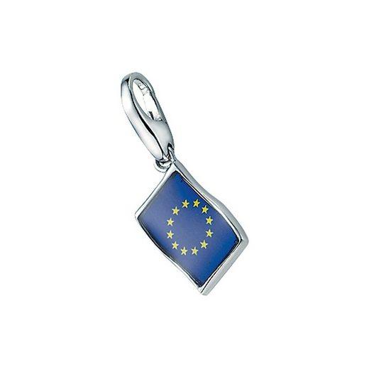 GIORGIO MARTELLO MILANO Charm-Einhänger »Flagge Europa«