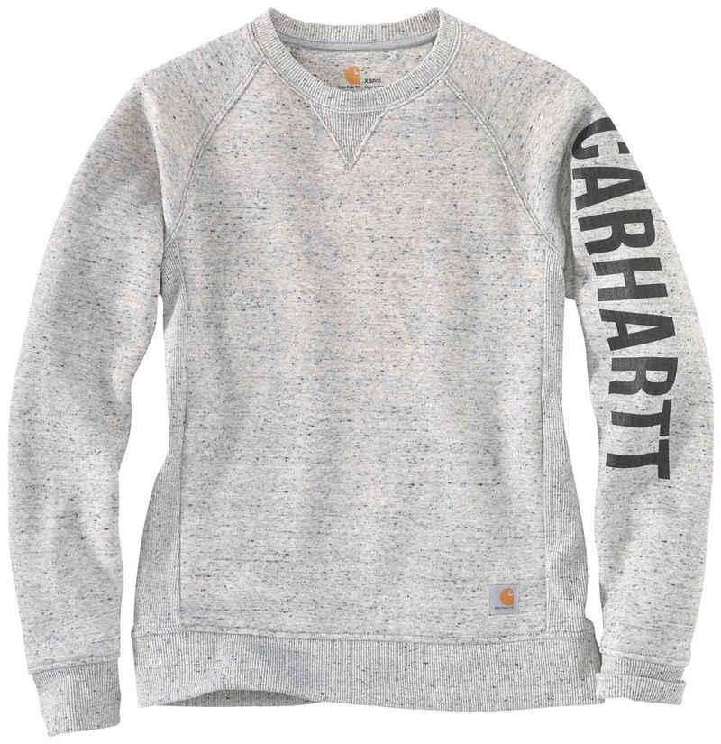 Carhartt Sweatshirt »CLARKSBURG CREWNECK« ASPHALT HEATHER NEP