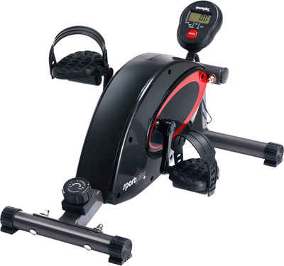 SportPlus Heimtrainer »Beintrainer SP-HT-0001«, Trainingscomputer inkl. Verlängerungskabel und Tischaufsteller; Mini-Heimtrainer auch für Senioren geeignet