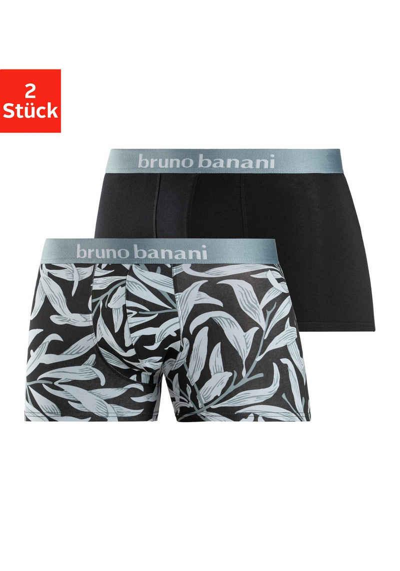 Bruno Banani Boxer (2 Stück) Short 2 Pack Leaf