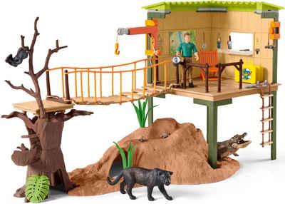 Schleich® Spielwelt »Wild Life, Abenteuerstation (42507)«, Made in Europe