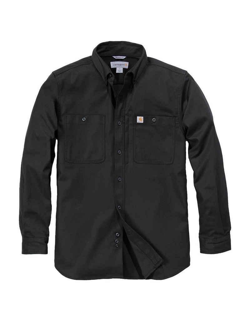 Carhartt Langarmhemd »Carhartt Langarmhemd schwarz« US Kleidergrößen