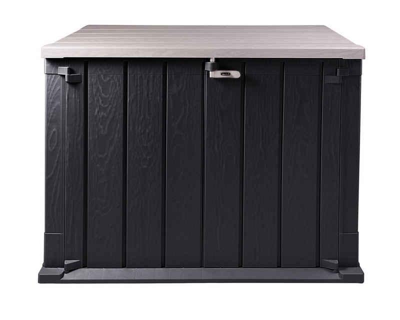 ONDIS24 Mülltonnenbox »Storer Basic für 2x 120 Liter Mülltonnen 842 Liter 130 x 75 x 111 cm«, abschließbar