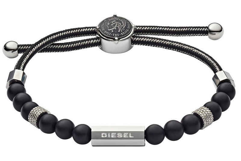 Diesel Edelstahlarmband »Beads«