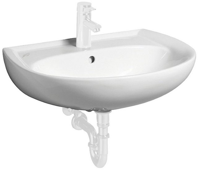 Waschtische - GEBERIT Waschbecken »Renova Nr. 1«, halbrund, 65 cm  - Onlineshop OTTO