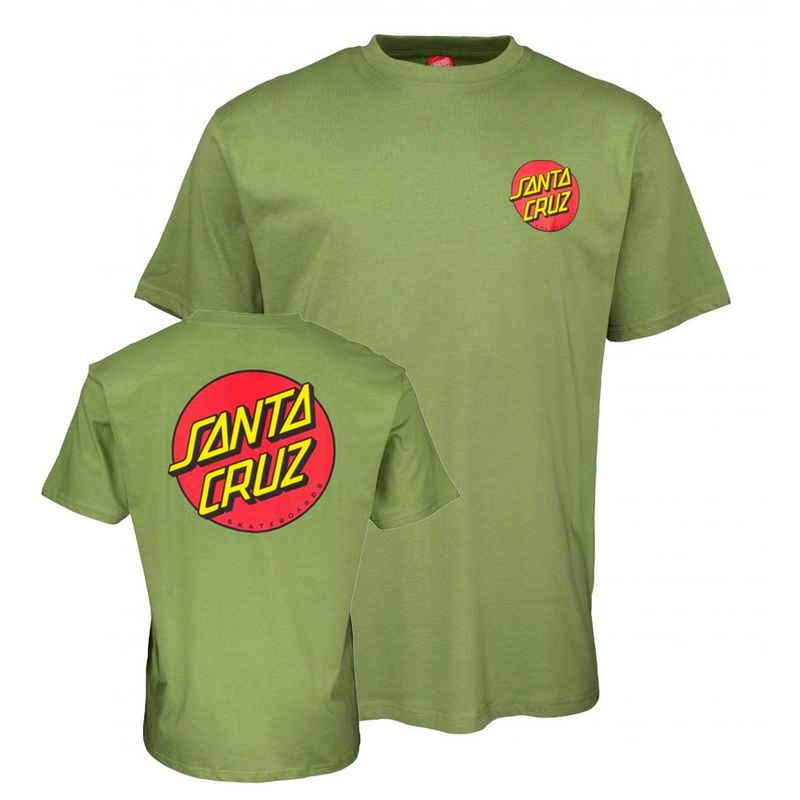 Santa Cruz T-Shirt »Classic Dot Chest - dill green«