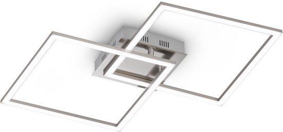 EGLO LED Deckenleuchte »Palmaves 1«, Dimmbar über Fernbedienung, Nachtlichtfunktion 10 %, Farbtemperatur einstellbar, Timerfunktion, modernes Design, als Wand- und Deckenlampe einsetzbar