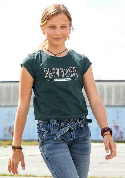 KIDSWORLD T-Shirt mit Städtedruck