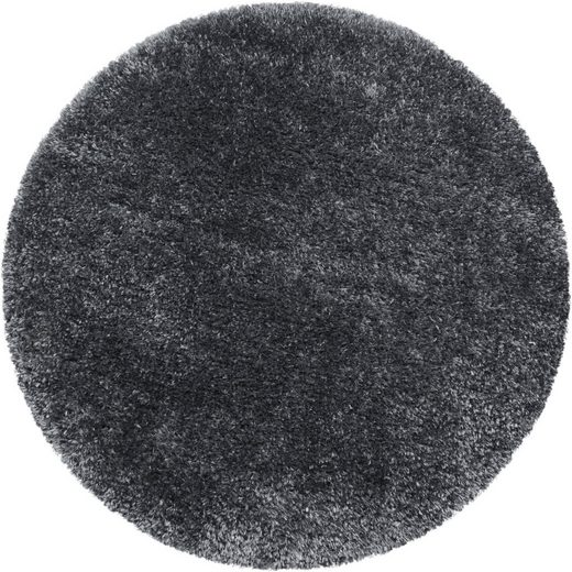 Hochflor-Teppich »BRILLIANT 4200«, Ayyildiz, rund, Höhe 50 mm, Wohnzimmer