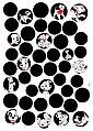 KOMAR Wandtattoo »101 Dalmatiner Dots«, selbsthaftend, rückstandslos abziehbar, Bild 1