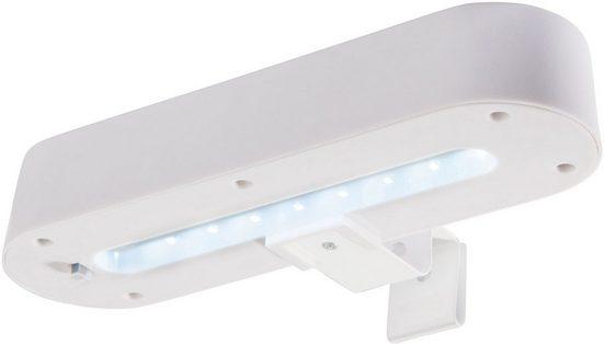 näve LED Außen-Wandleuchte »Dachrinnenleuchte«, Solar, 2-er Set
