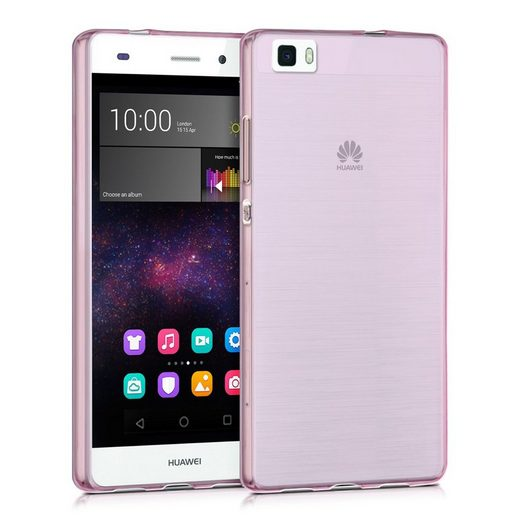 kwmobile Handyhülle, Hülle für Huawei P8 Lite (2015) - Ultra Slim Case Handy Cover Schutzhülle - TPU Silikon Backcover