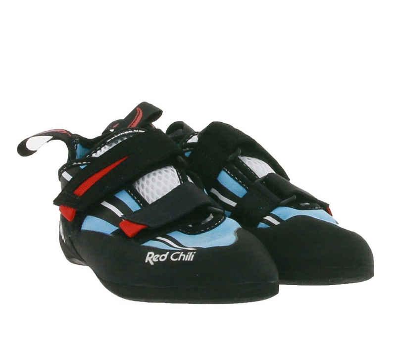Red Chili »RED CHILI DURANGO VCR Kletter-Schuhe optimale Komfortkletterschuhe für Damen Boulder-Schuhe Schwarz/Blau« Kletterschuh