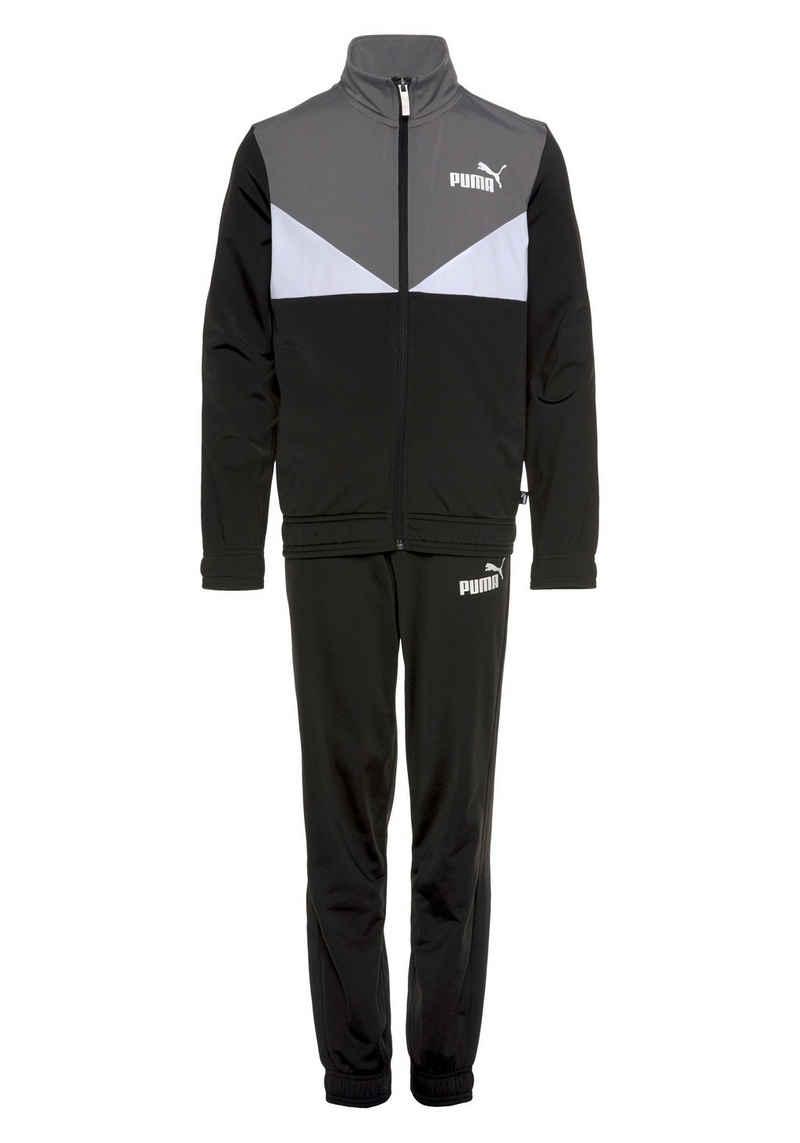 PUMA Trainingsanzug »Colorblock Poly Suit«