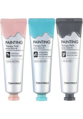 TONYMOLY Gesichtsmasken-Set »Painting Therapy« ...
