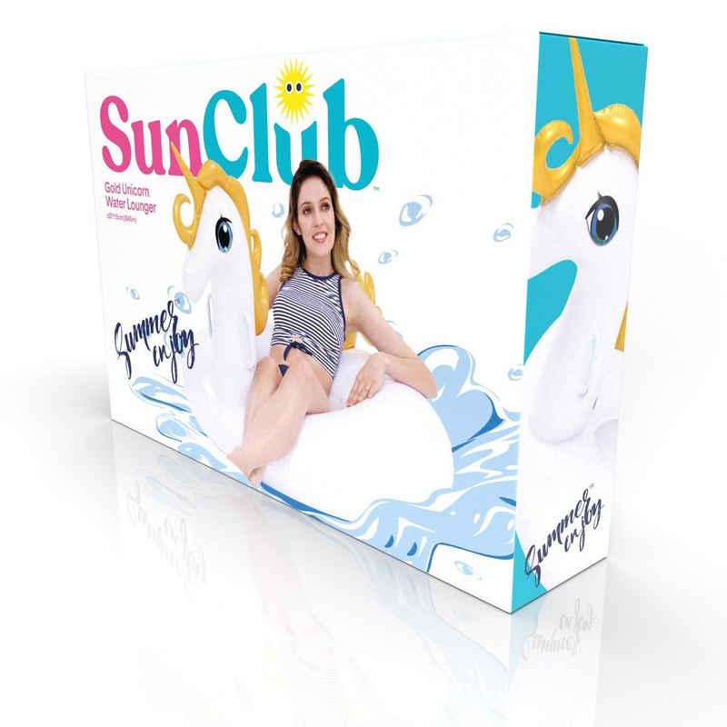 SunClub Schwimmtier »Aufblasbares Einhorn, Wassertier«, Ø 115cm
