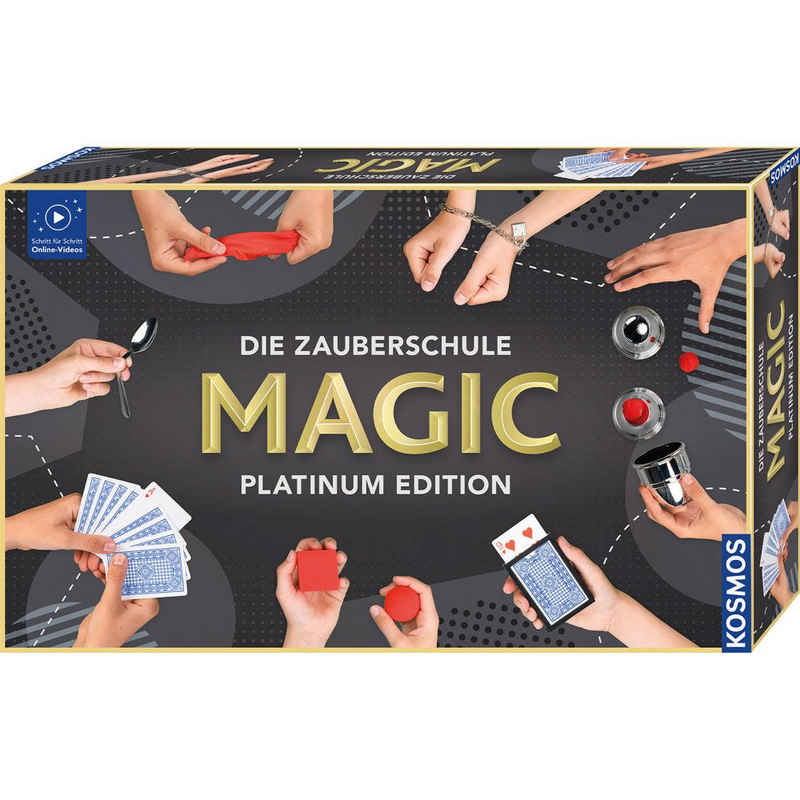 Kosmos Zauberkasten »Die Zauberschule Magic - Platinum Edition«