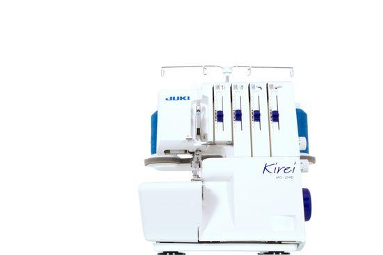 Juki Nähmaschine Juki MO-214D Kirei, Inklusive Abfallbehälter und Blindsaumfuß