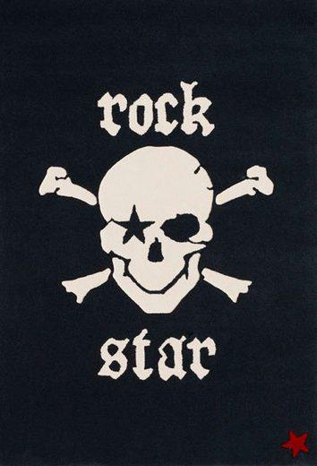 Teppich »RS2385-1«, Rock STAR Baby, rechteckig, Höhe 15 mm, handgearbeiteter Konturenschnitt, Obermaterial: 100% Polyacryl