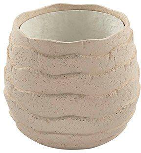 Fink Übertopf »COCON« (1 Stück), dekorativer Blumentopf, Stein- oder Betonoptik, handgefertigt, in verschiedenen Größen erhältlich, In- und Outdoor geeignet