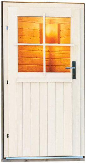 Karibu Saunahaus »Wim«, BxTxH: 196 x 146 x 228 cm, 38 mm, ohne Ofen