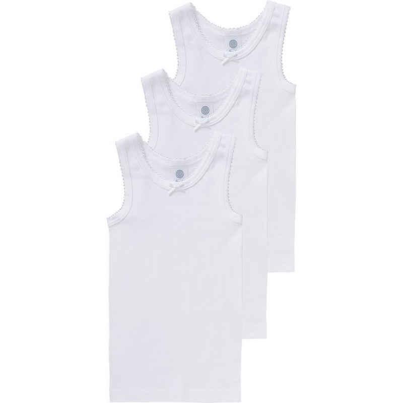 Sanetta Unterhemd »Unterhemden 3er-Pack für Mädchen, Organic Cotton«