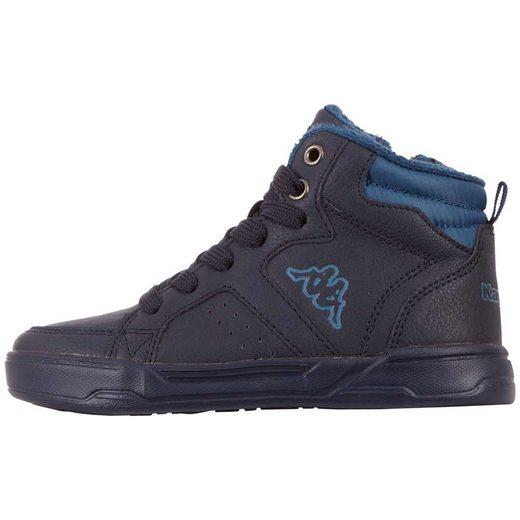 Kappa »GRAFTON KIDS« Sneaker mit praktischem Reißverschluss an der Innenseite