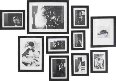 Guido Maria Kretschmer Home&Living Bilderrahmen Collage »Sentitama«, (Set, 10 Stück)