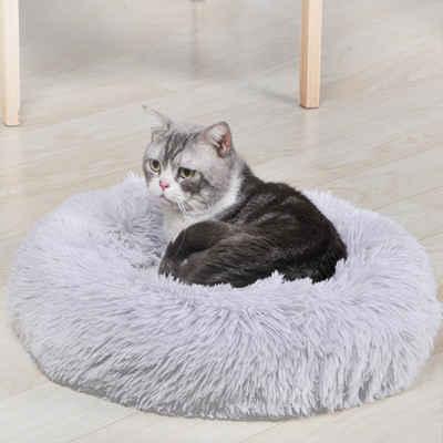 autolock Katzenzelt »Haustierbett für Katzen und Hunde Rundes Plüsch Hundebett Katzenbett in Doughnut-Form Farbe und Größe Optional«