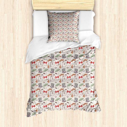 Bettwäsche »Milbensicher Allergiker geeignet mit Kissenbezug«, Abakuhaus, Fahrrad 40s Hoch Räder