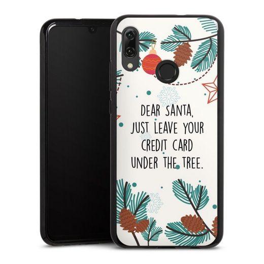 DeinDesign Handyhülle »Dear Santa« Huawei Honor 10 Lite, Hülle Sprüche Statement Weihnachten