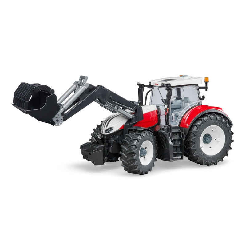 Bruder® Spielzeug-Traktor »Steyr 6300 Terrus CVT mit Frontlader«