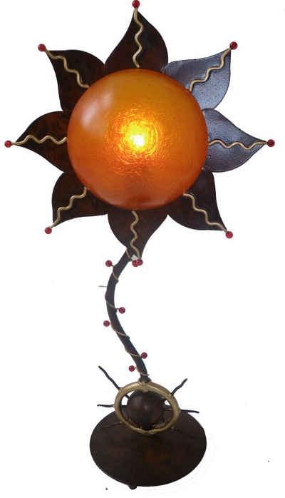 Guru-Shop Tischleuchte »Tischleuchte Kokopelli - Sun Lamp H1072«